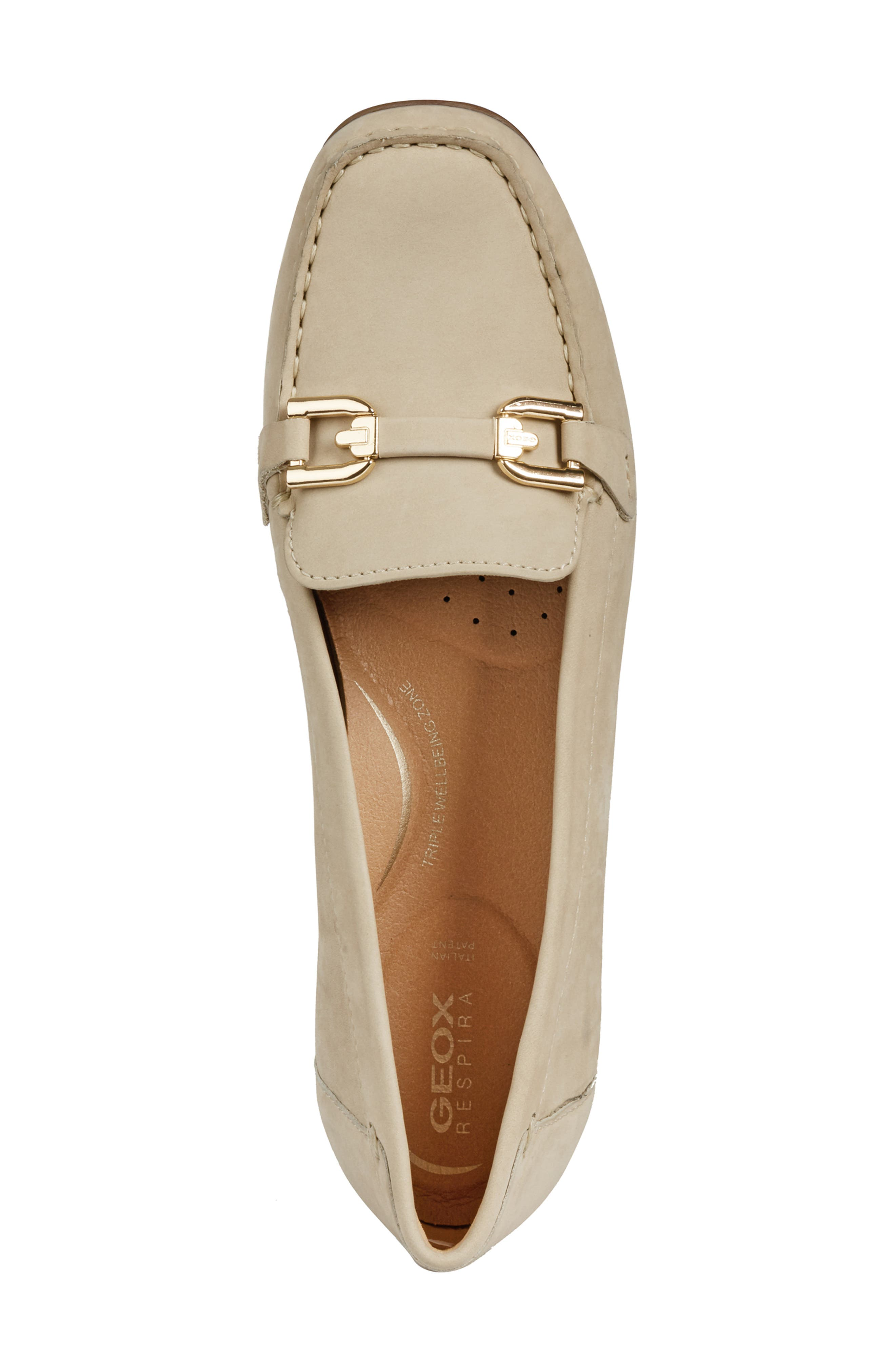 ,                             Annytah Loafer,                             Alternate thumbnail 5, color,                             TAUPE SUEDE