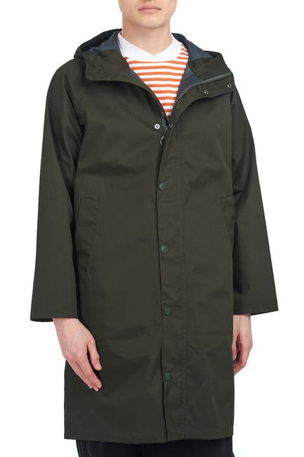 Image of Barbour Hooded Hunting Jacket