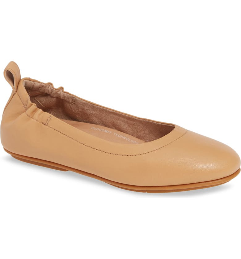 FITFLOP Allegro Ballet Flat, Main, color, BLUSH