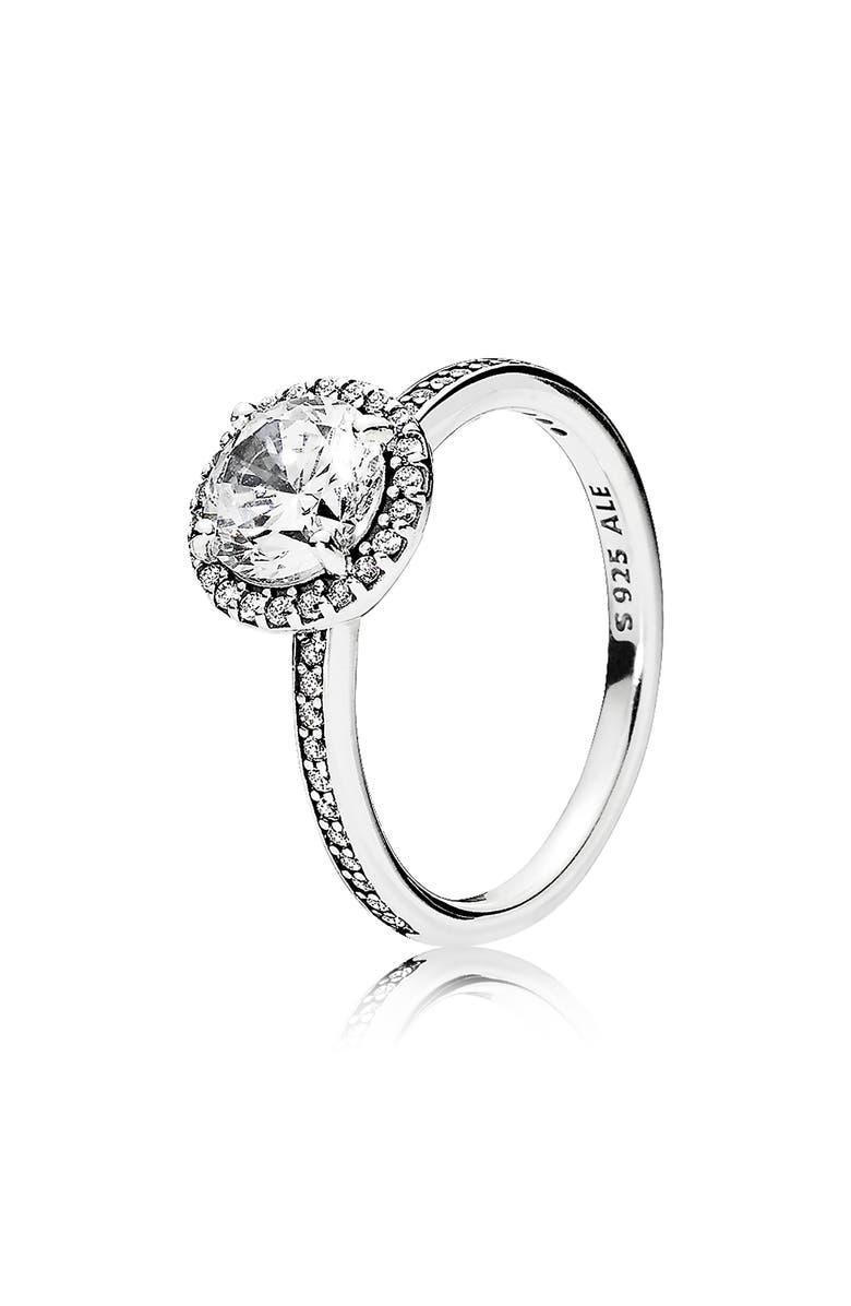 PANDORA Classic Elegance Ring, Main, color, 040