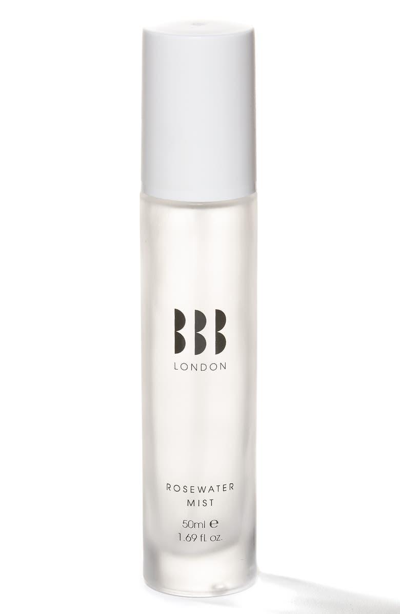 BBB LONDON Rosewater Facial Mist Spray, Main, color, NO COLOR