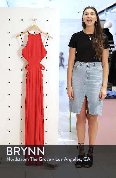 Boston Cutout Maxi Dress, sales video thumbnail