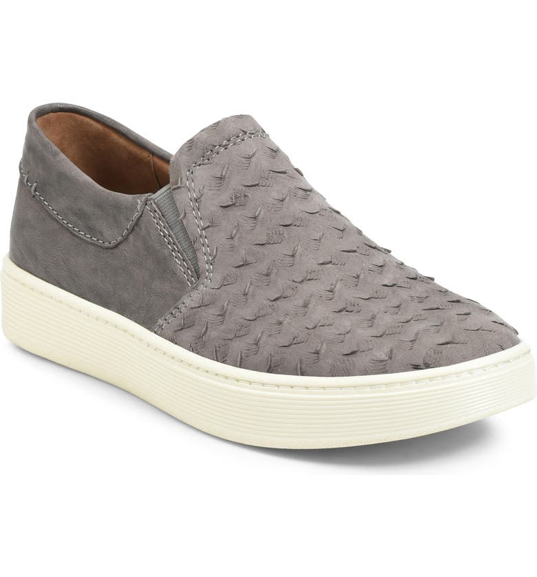 SÖFFT Somers III Slip-On Sneaker, Main, color, PAVEMENT LEATHER