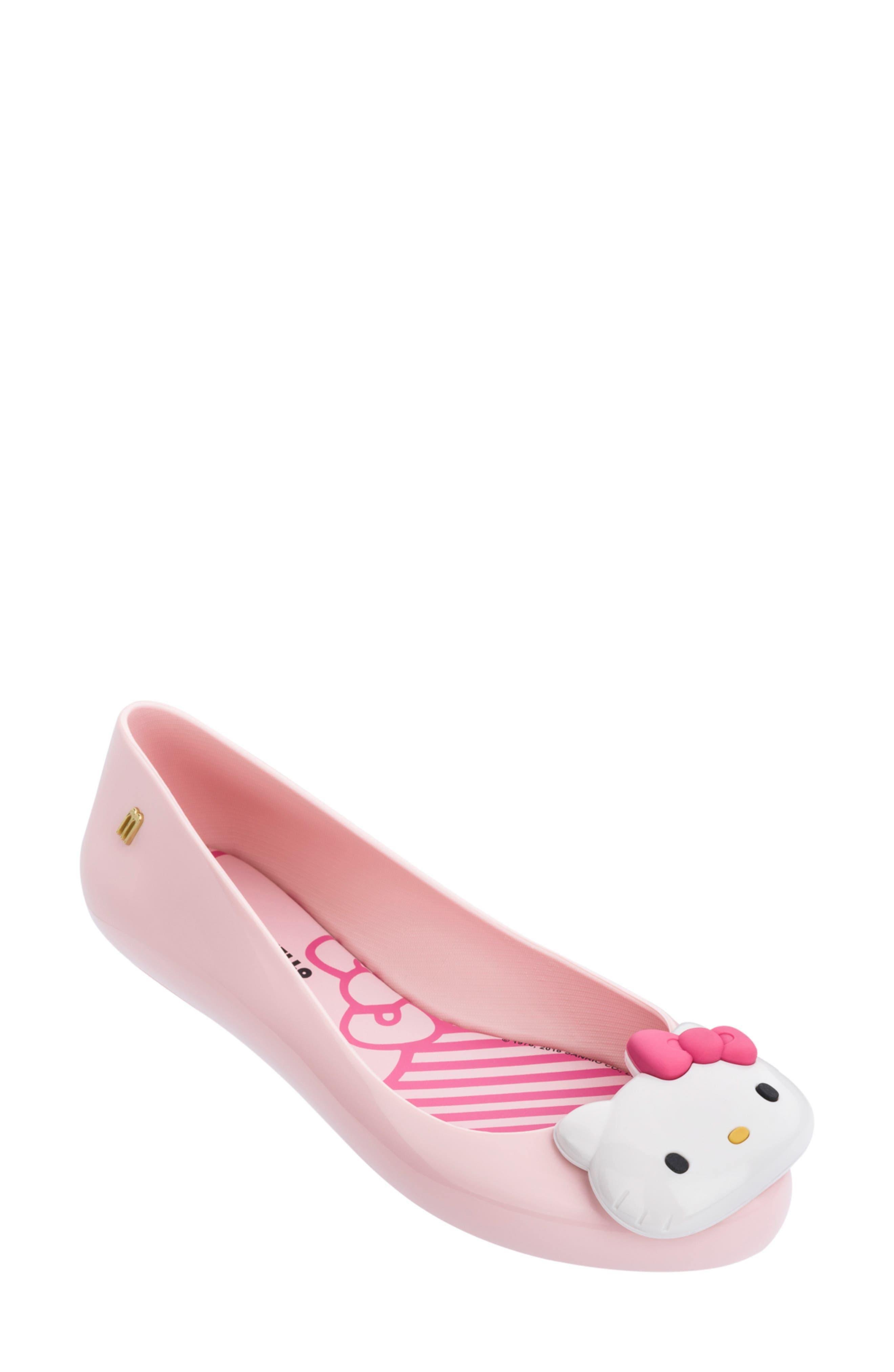 Melissa Hello Kitty Flat, Pink