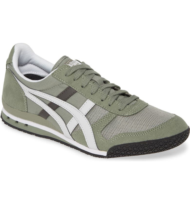 ONITSUKA TIGER<SUP>™</SUP> 'Ultimate 81<sup>™</sup>' Sneaker, Main, color, BURNT OLIVE/ GLACIER GREY MESH
