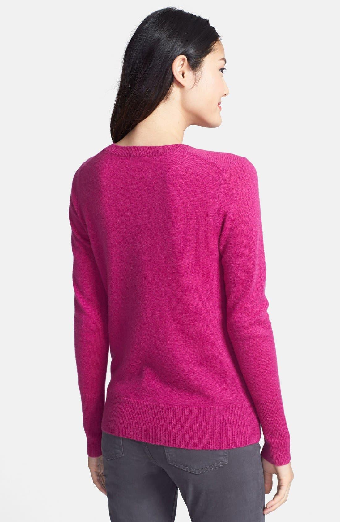 ,                             Cashmere V-Neck Sweater,                             Alternate thumbnail 82, color,                             652