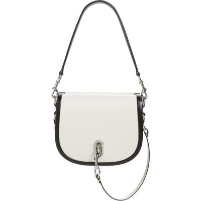 The Marc Jacobs Leather Saddle Bag - White