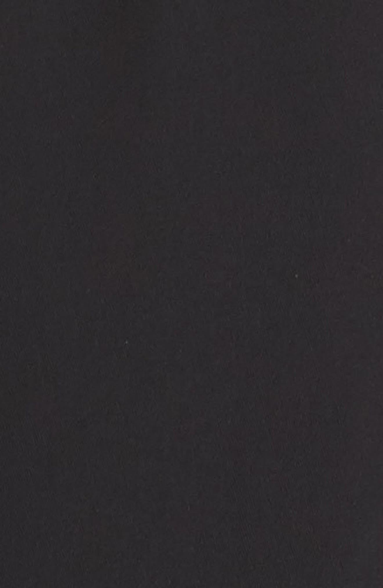 ,                             Cap Sleeve Wide Leg Jumpsuit,                             Alternate thumbnail 5, color,                             BLACK