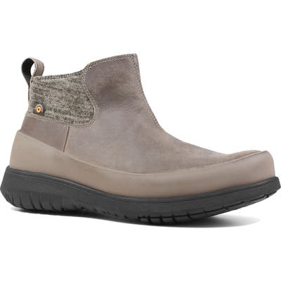Bogs Freedom Waterproof Ankle Boot, Grey