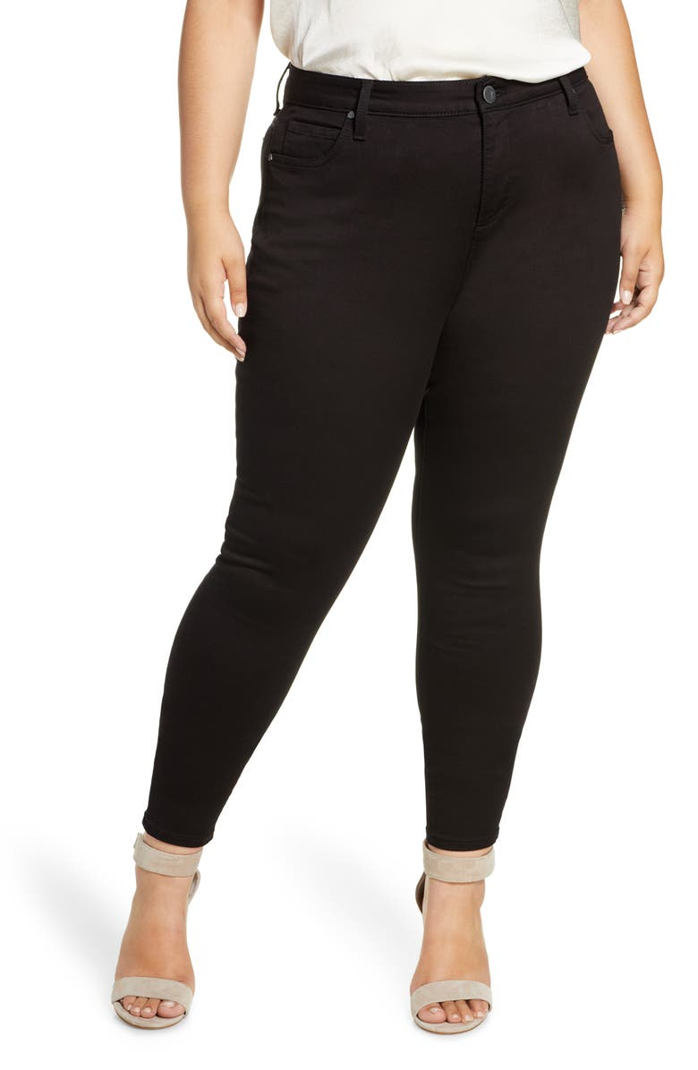 KUT FROM THE KLOTH Skinny Jeans, Main, color, BLACK