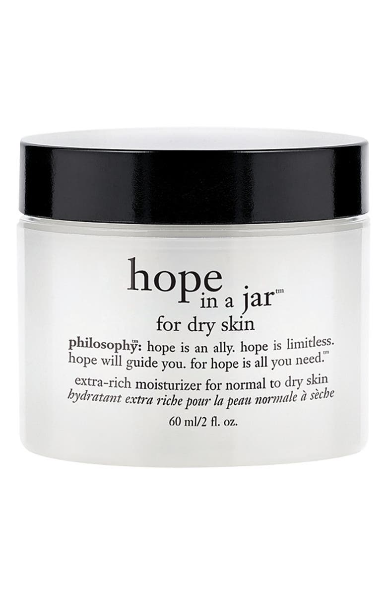 PHILOSOPHY 'hope in a jar' for dry skin, Main, color, 000