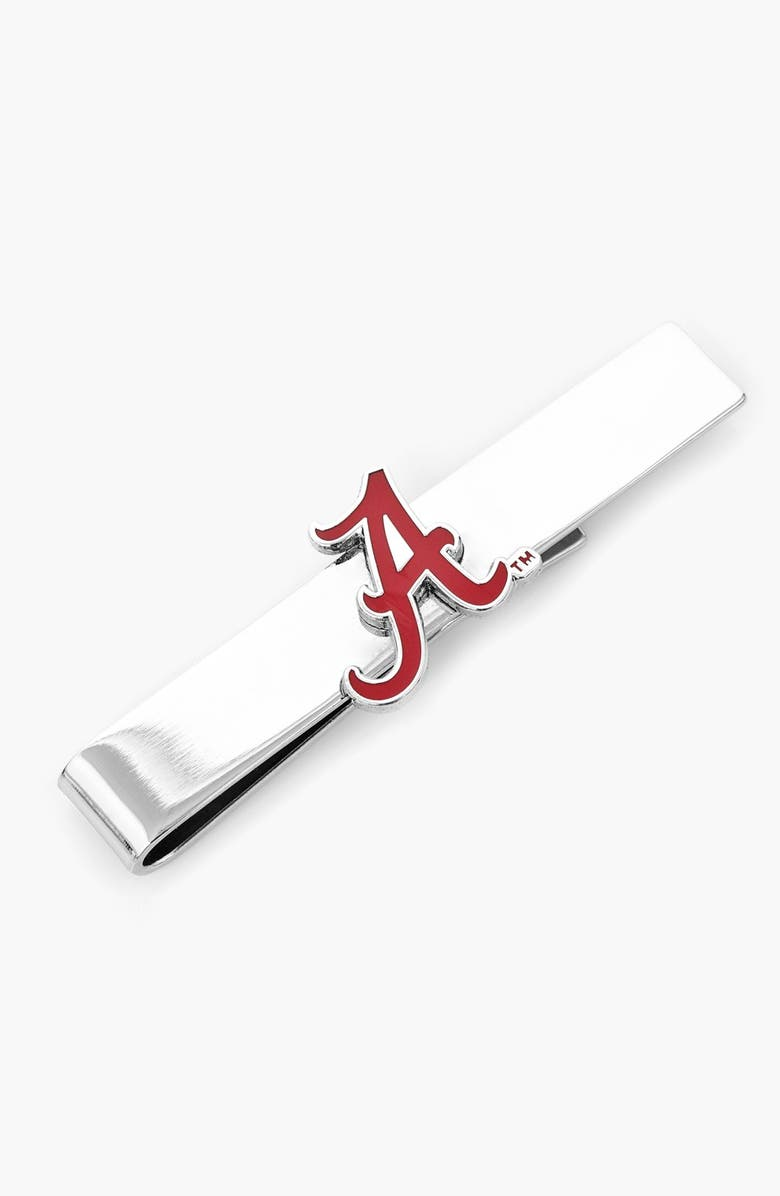 CUFFLINKS, INC. 'Alabama Crimson Tide' Tie Bar, Main, color, 045