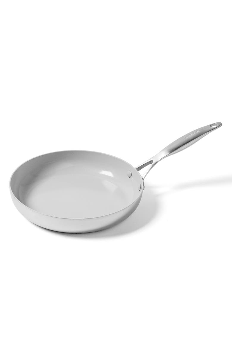 GREENPAN Venice Pro 10-Inch Ceramic Nonstick Fry Pan, Main, color, STAINLESS STEEL