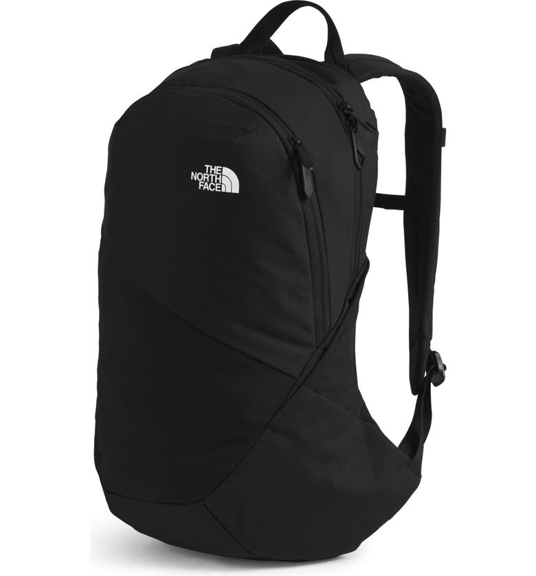 THE NORTH FACE 'Isabella' Backpack, Main, color, BLACK HEATHER/ WHITE