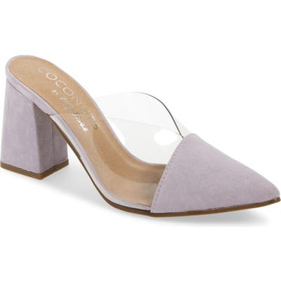 Coconuts By Matisse Shauna Translucent Mule, Purple