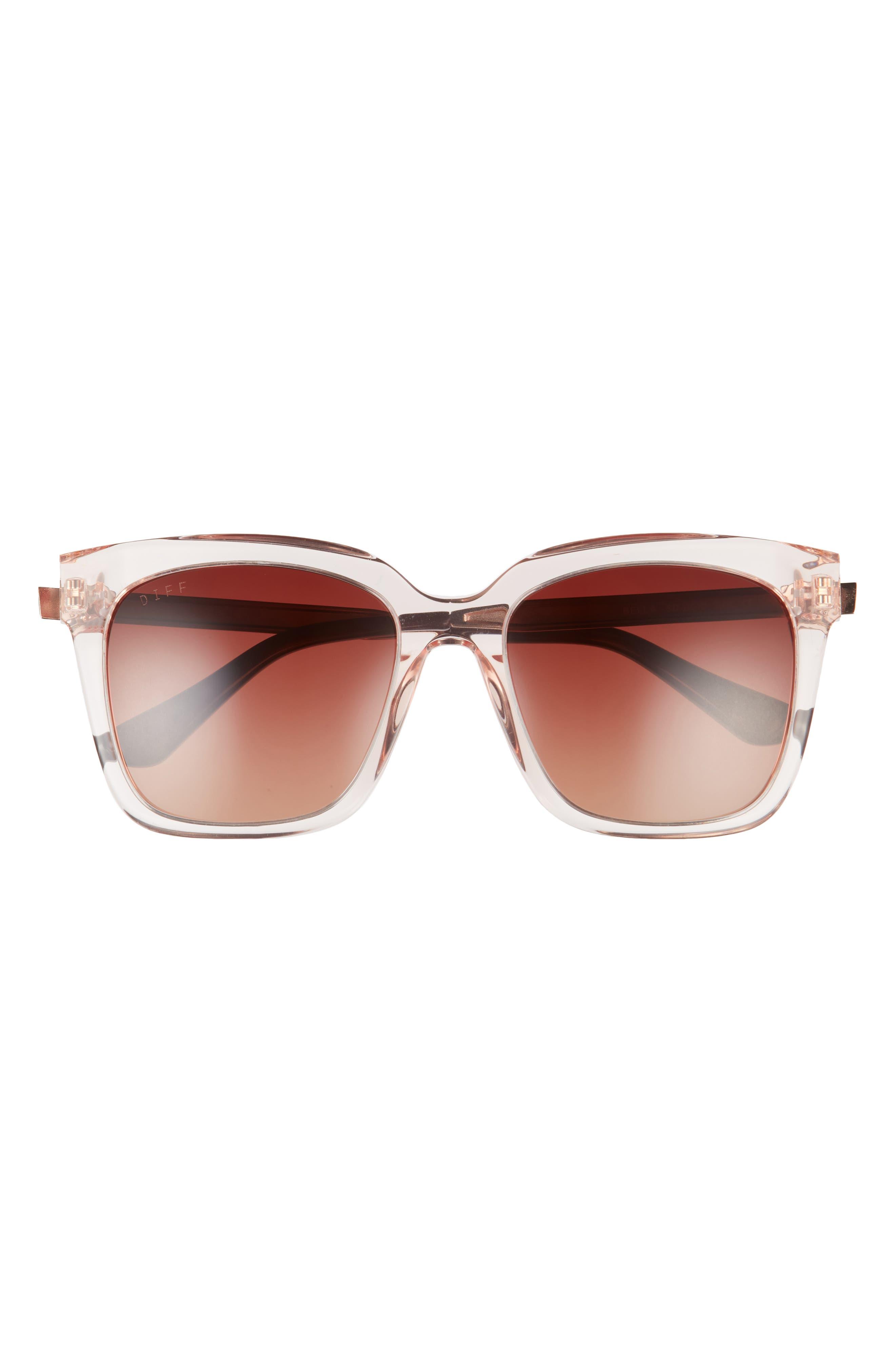 Bella 54mm Square Sunglasses