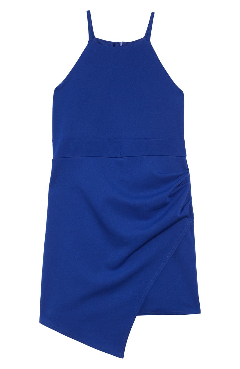 LOVE, NICKIE LEW Sleeveless Romper, Main, color, ROYAL