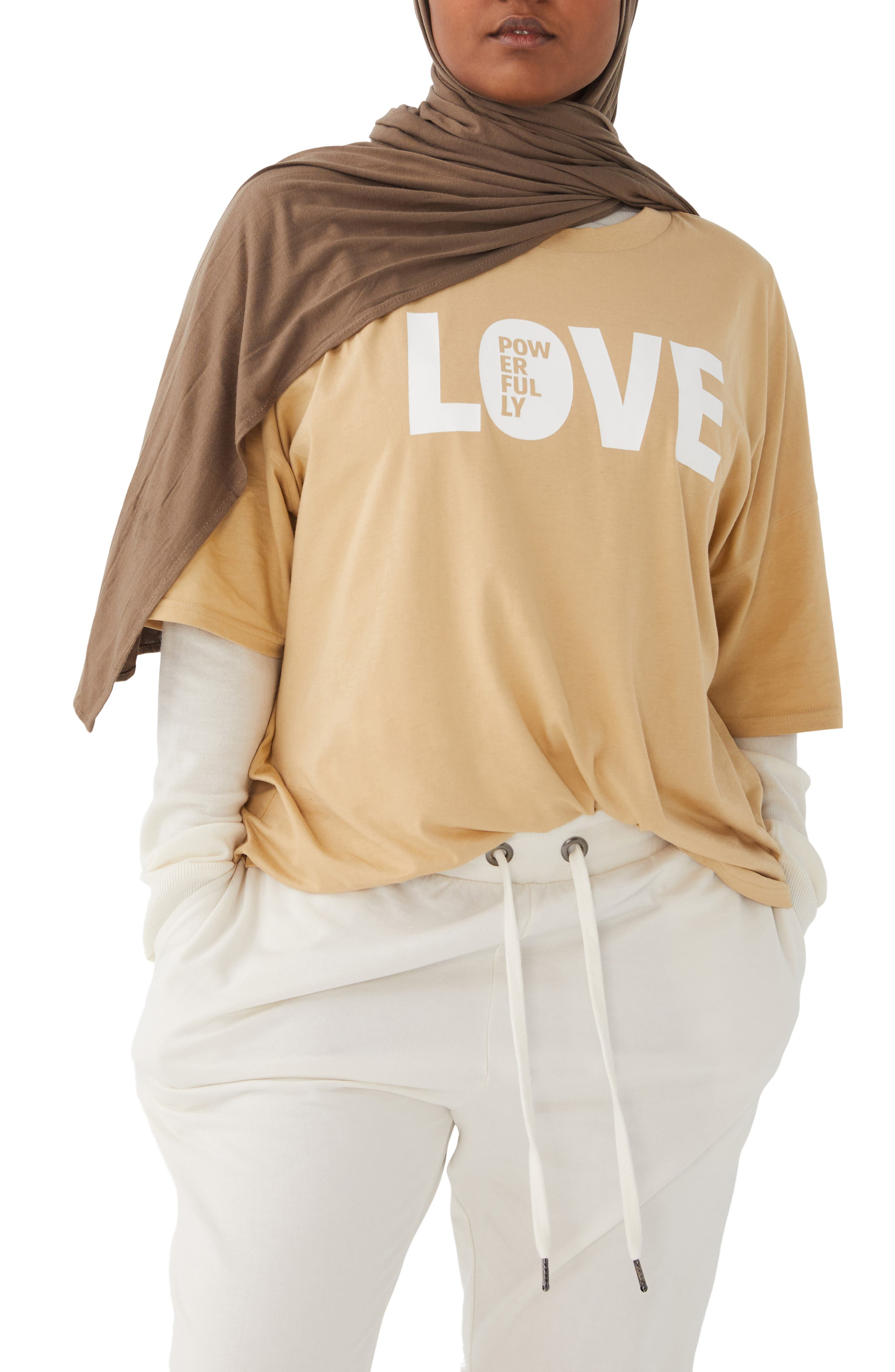 HUMAN NATION Gender Inclusive Love Graphic Tee