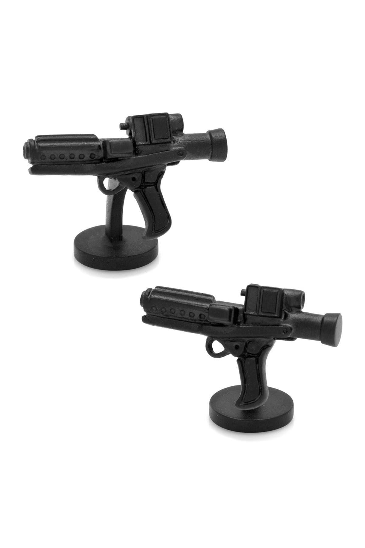 Image of Cufflinks Inc. x Star Wars 3D Stormtrooper E-11 Blaster Cuff Links
