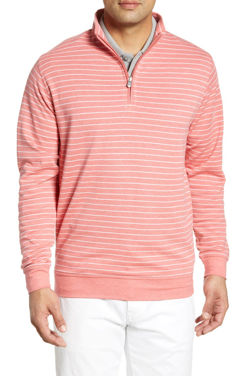 PETER MILLAR Classic Fit Pullover, Main, color, LANAI