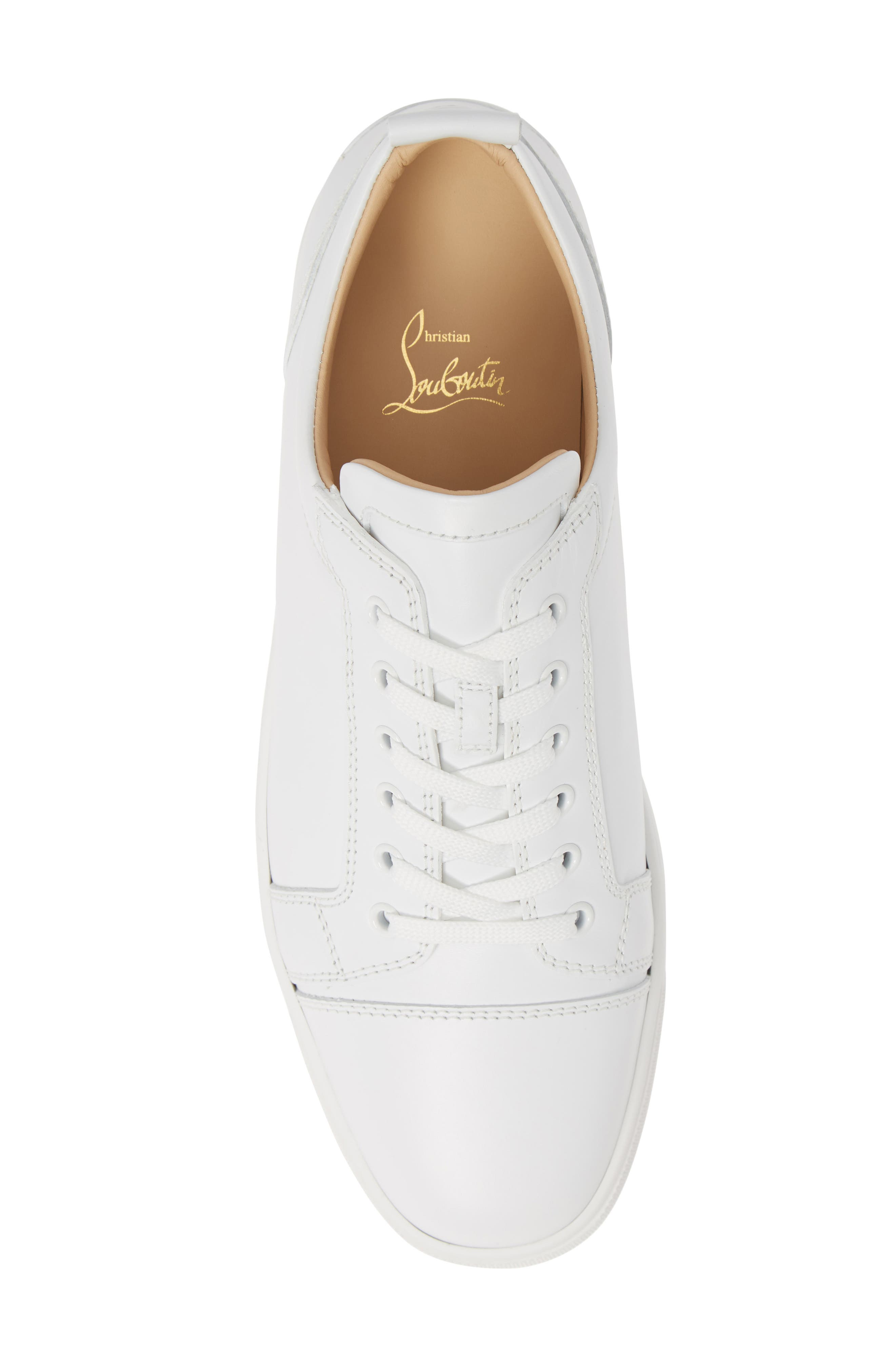,                             Louis Junior Low Top Sneaker,                             Alternate thumbnail 5, color,                             WHITE