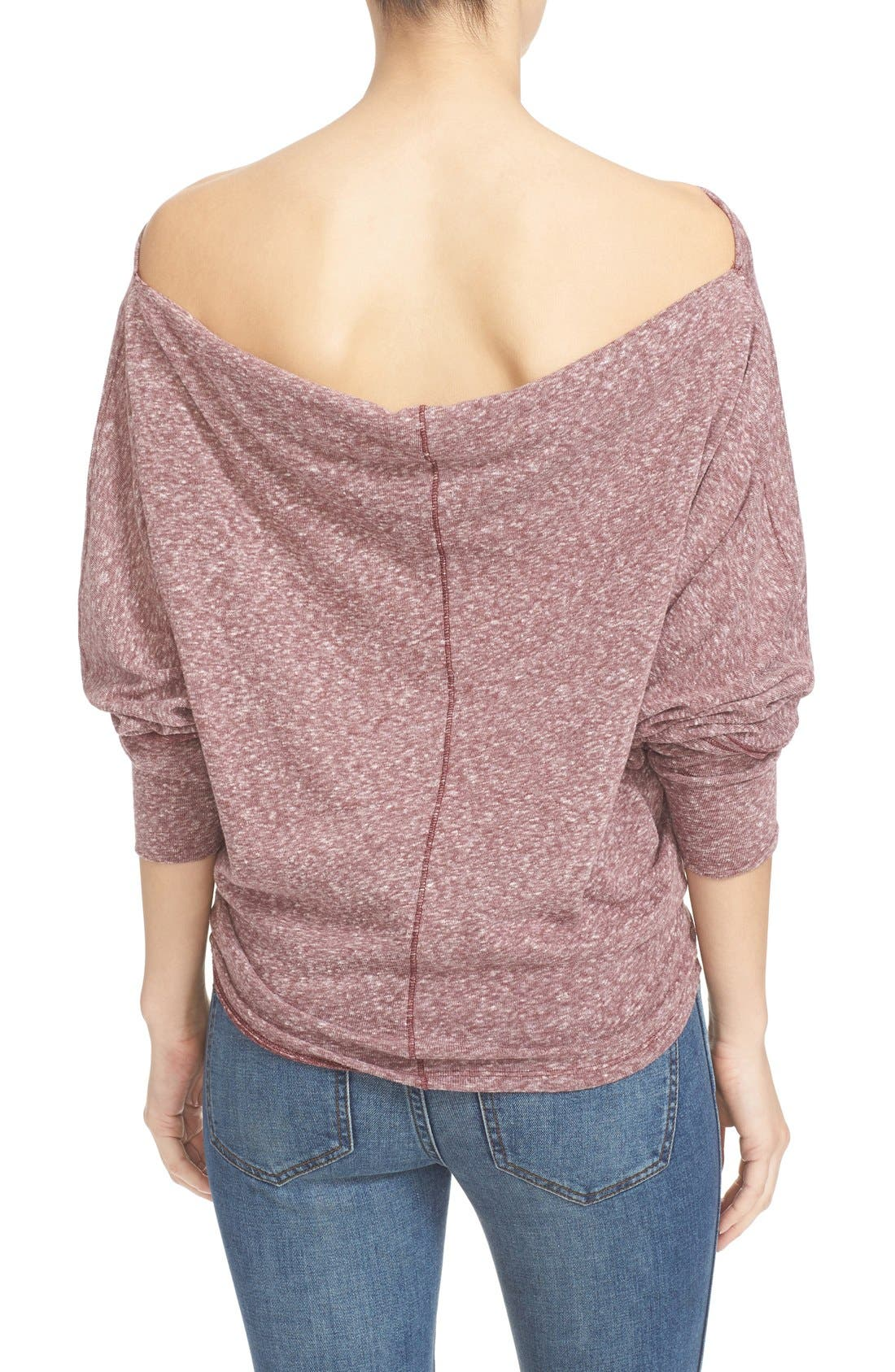 ,                             Valencia Off the Shoulder Pullover,                             Alternate thumbnail 43, color,                             506
