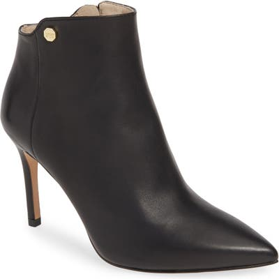 Louise Et Cie Sid Pointy Toe Bootie, Black (Nordstrom Exclusive)
