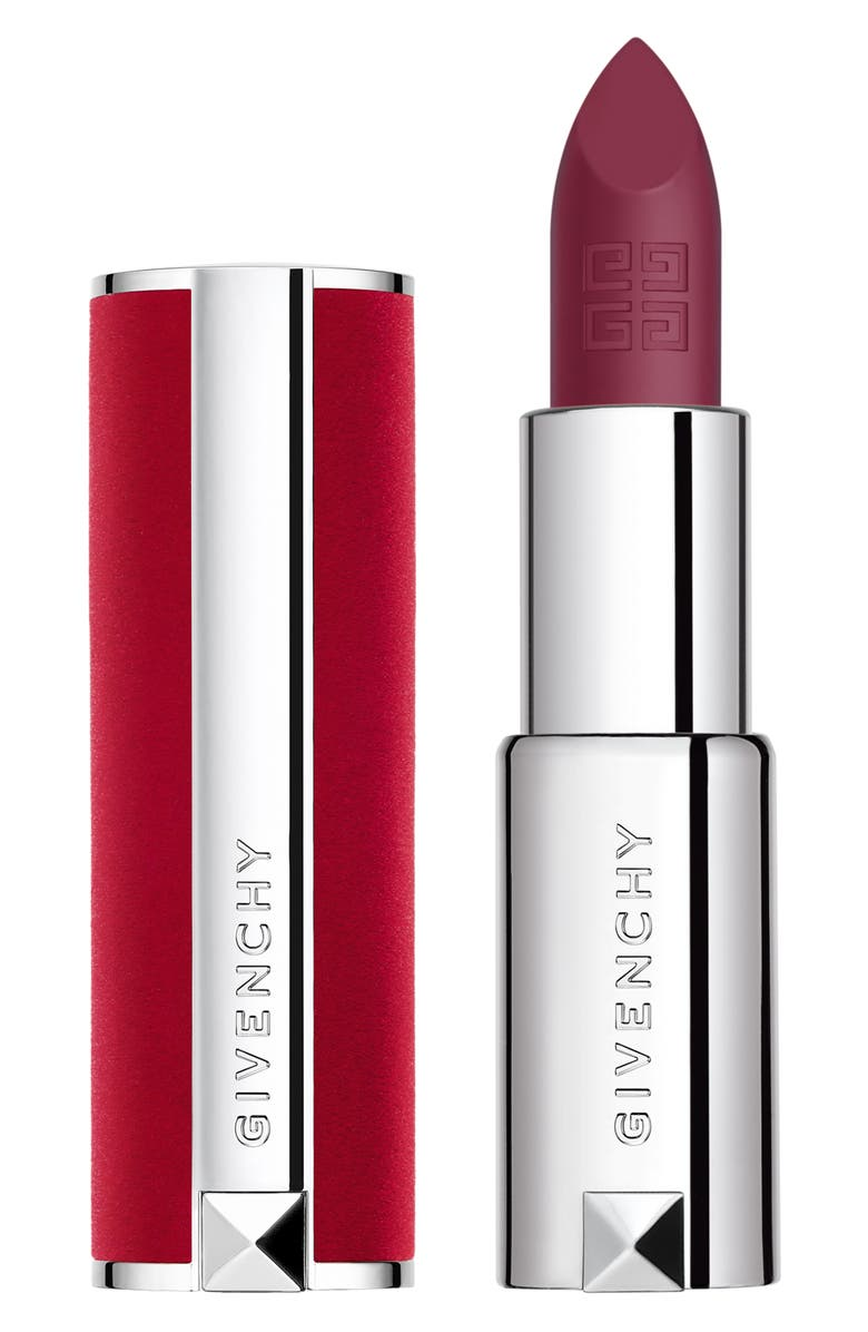 GIVENCHY Le Rouge Deep Velvet Matte Lipstick, Main, color, 42 VIOLET VELOURS