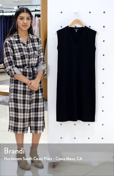 V-Neck Sleeveless A-Line Dress, sales video thumbnail
