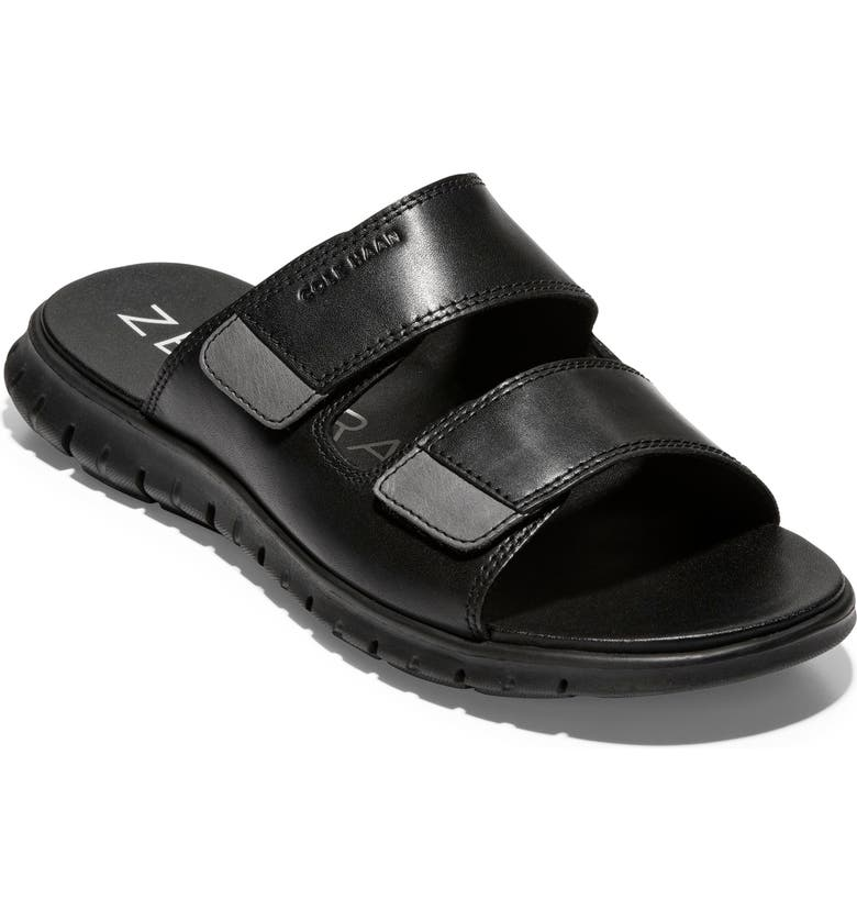 COLE HAAN ZeroGrand Slide Sandal, Main, color, BLACK