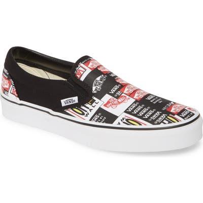 Vans Classic Slip-On- Black