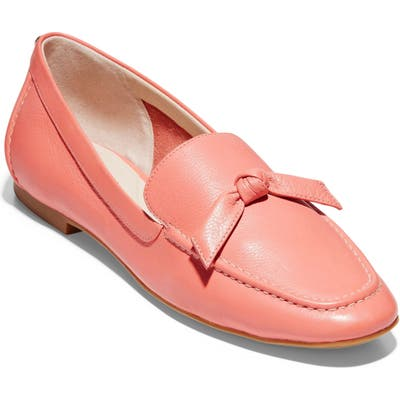 Cole Haan Caddie Bow Loafer, Coral