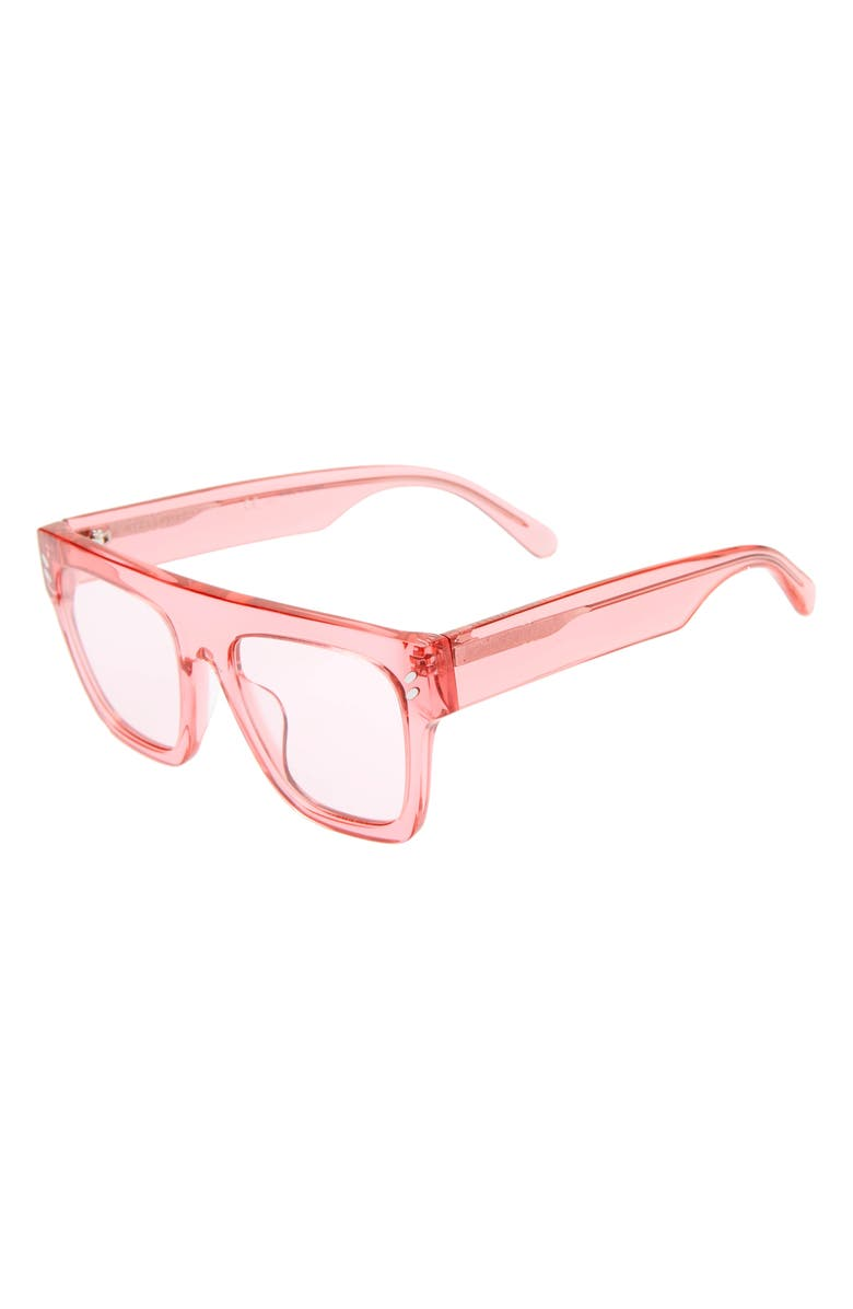 STELLA MCCARTNEY KIDS 45mm Square Sunglasses, Main, color, PINK