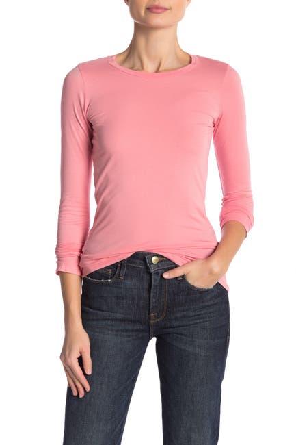 Image of Velvet by Graham & Spencer Zofina Gauzy Whisper Long Sleeve T-Shirt