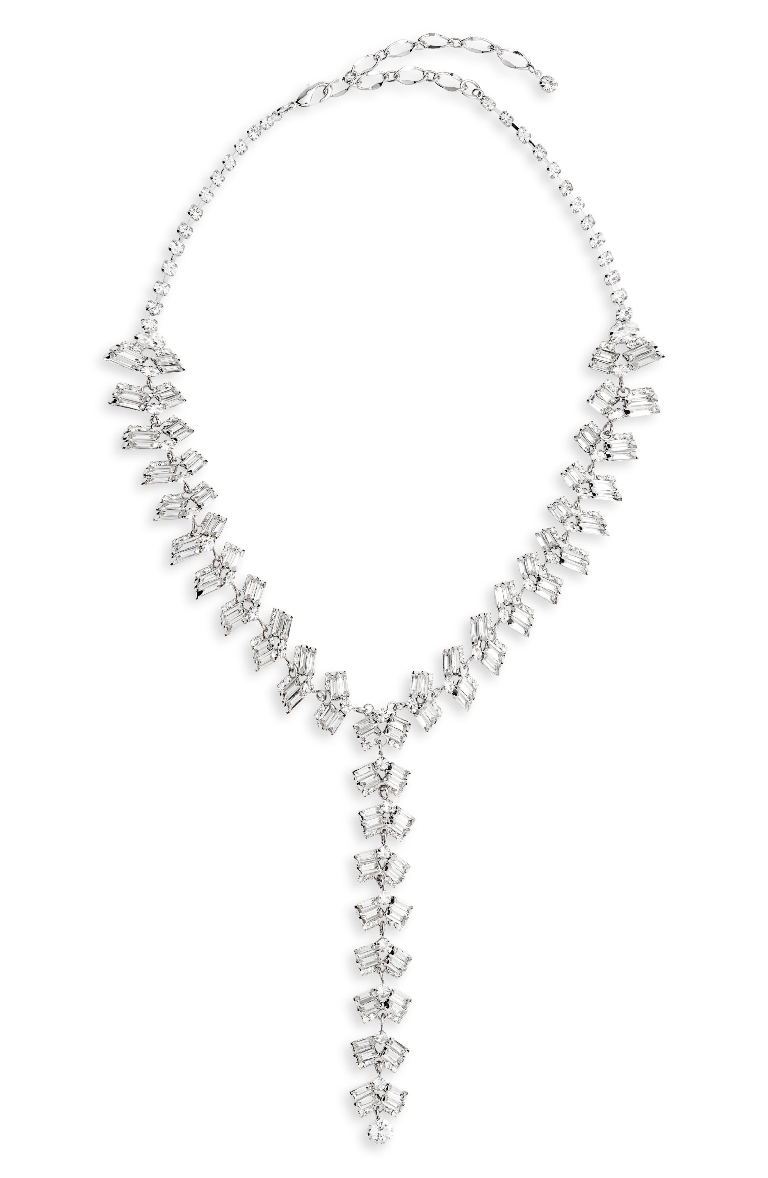 Crystal Y-Necklace