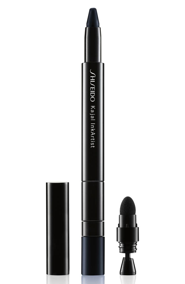 SHISEIDO Kajal InkArtist Eyeshadow, Liner & Brow Pencil, Main, color, NIPPON NOIR