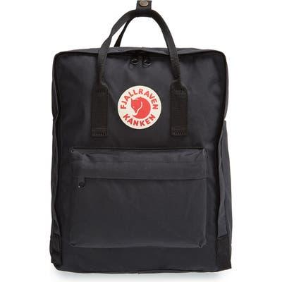 Fjallraven Kanken Water Resistant Backpack - Black