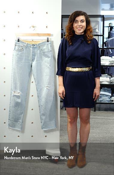 Rosa Ripped Boyfriend Jeans, sales video thumbnail