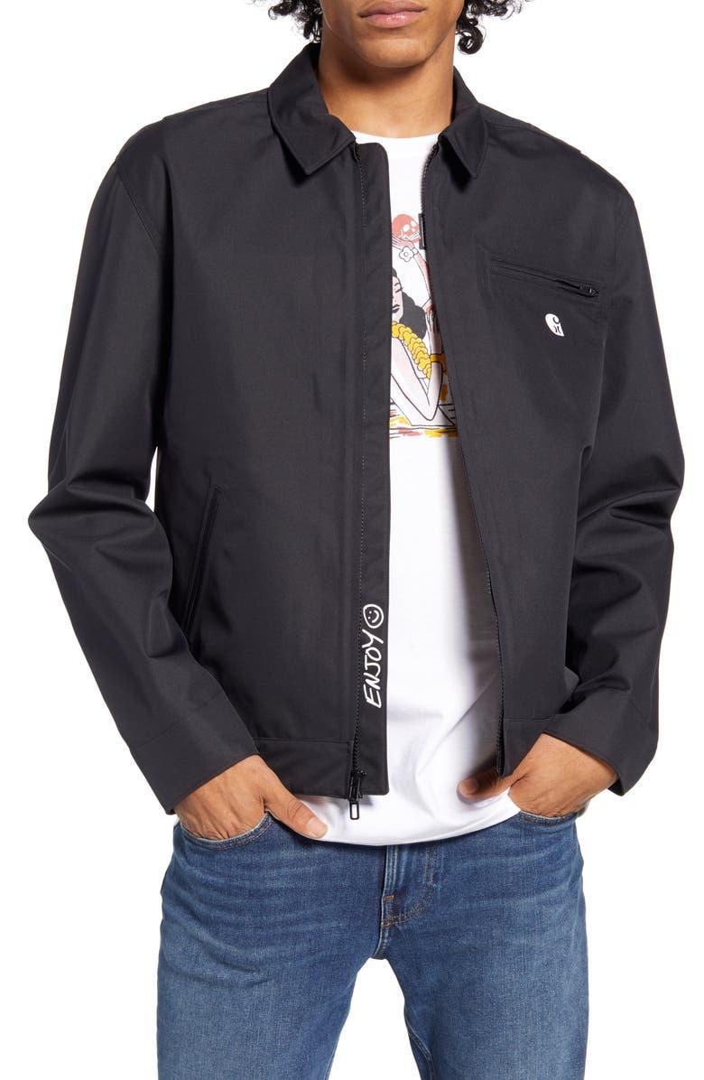 HURLEY x Carhartt Detroit Jacket, Main, color, BLACK