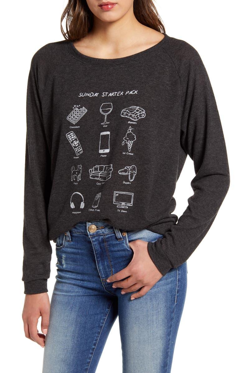Sunday Starter Pack Sweatshirt