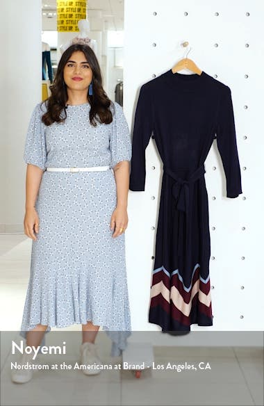 Chevron Sweater Dress, sales video thumbnail