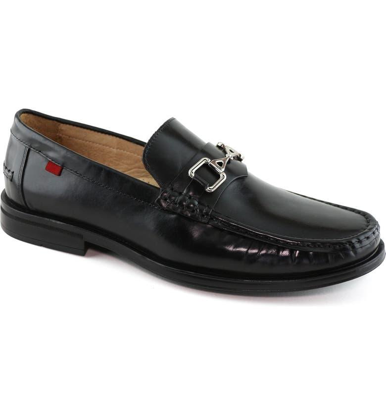 MARC JOSEPH NEW YORK Astoria Bit Loafer, Main, color, BLACK LEATHER