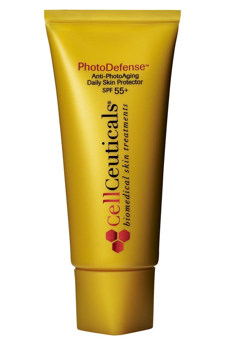 CELLCEUTICALS<SUP>®</SUP> 'PhotoDefense<sup>®</sup>' Anti-PhotoAging Daily Skin Protector SPF 55, Main, color, 000