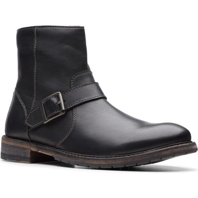 Clarks Clarkdale Zip Boot- Black