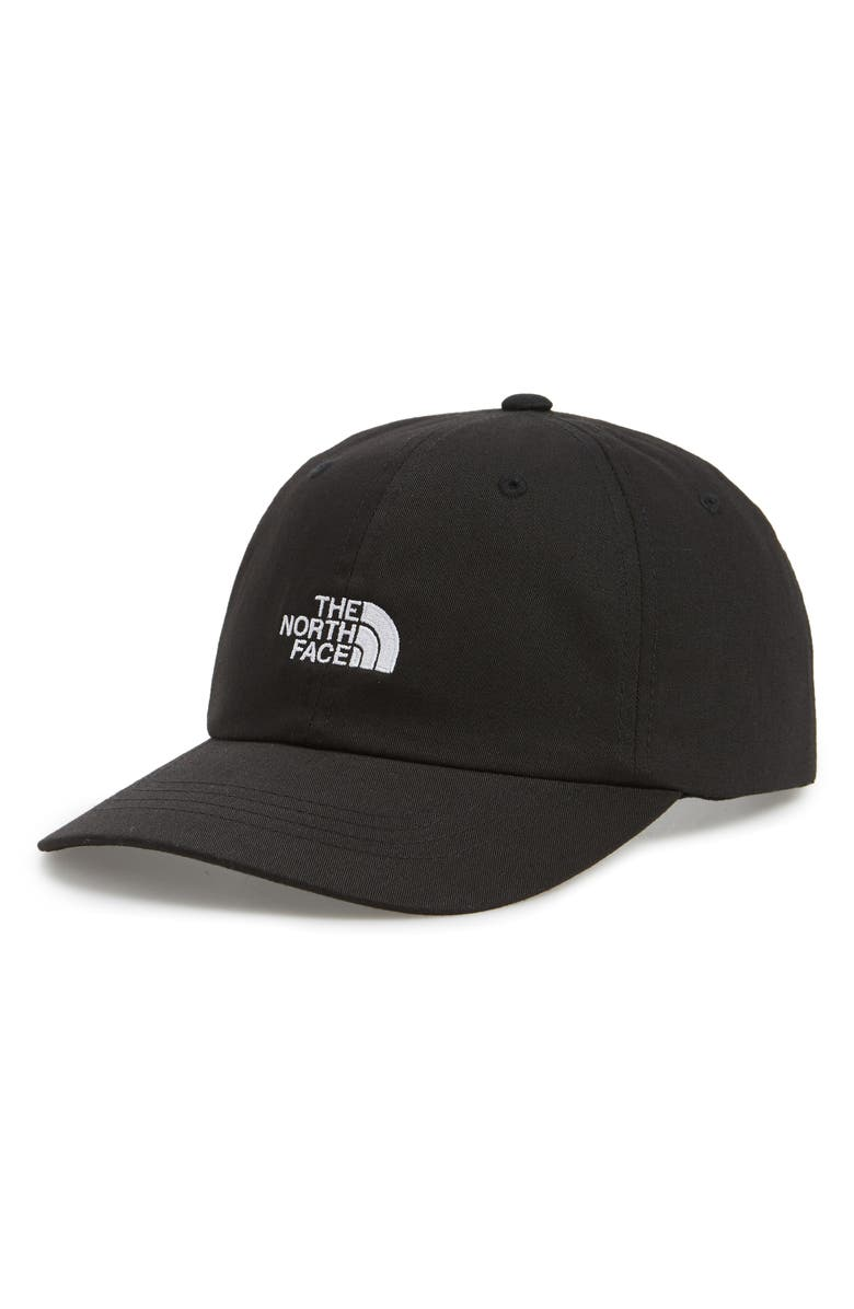 THE NORTH FACE The Norm Baseball Cap, Main, color, BLACK/ WHITE