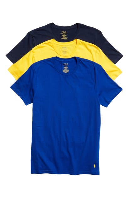 Polo Ralph Lauren T-shirts 3-PACK CLASSIC FIT T-SHIRTS