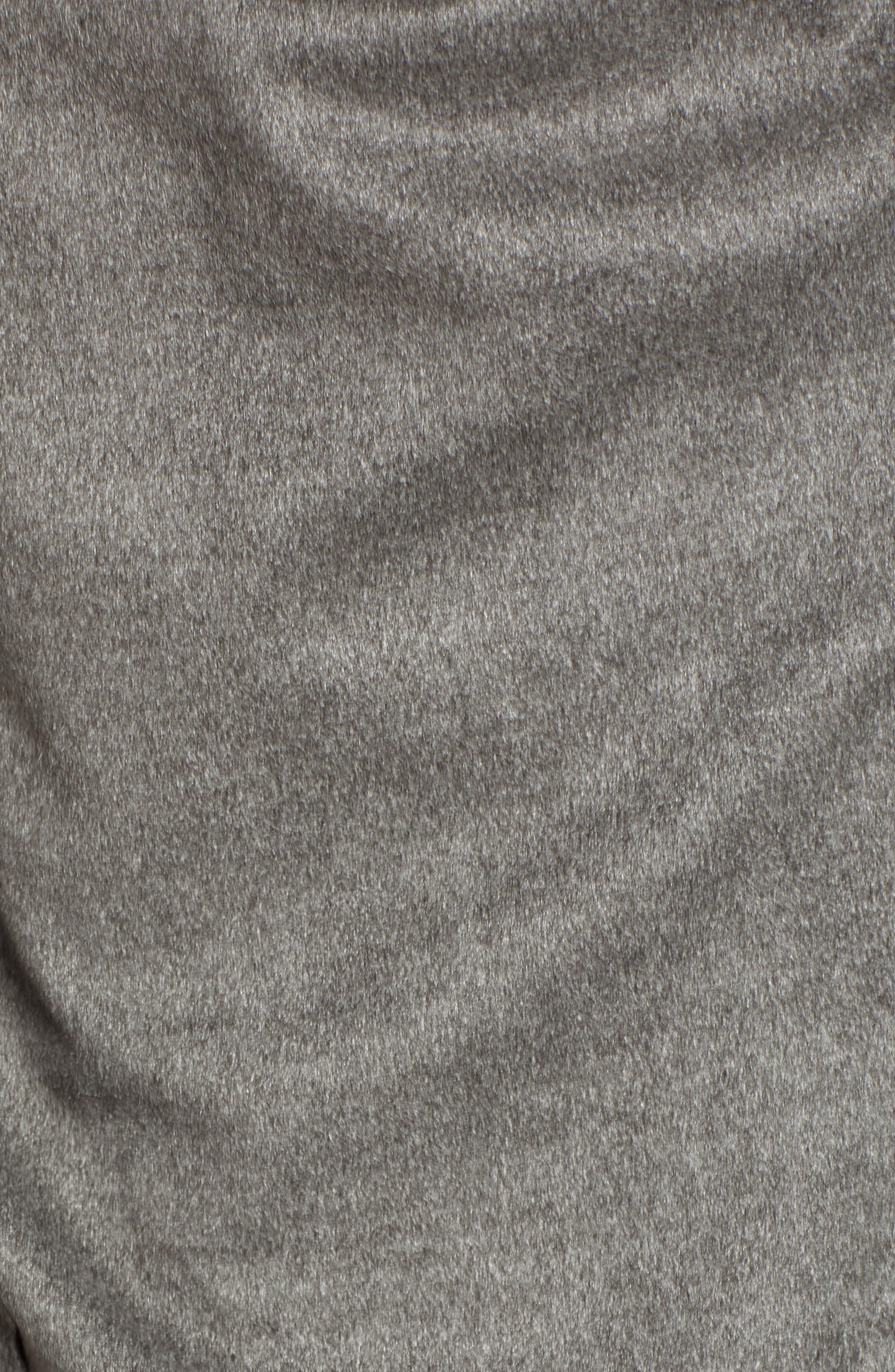 ,                             Faux Suede Drape Jacket,                             Alternate thumbnail 6, color,                             020