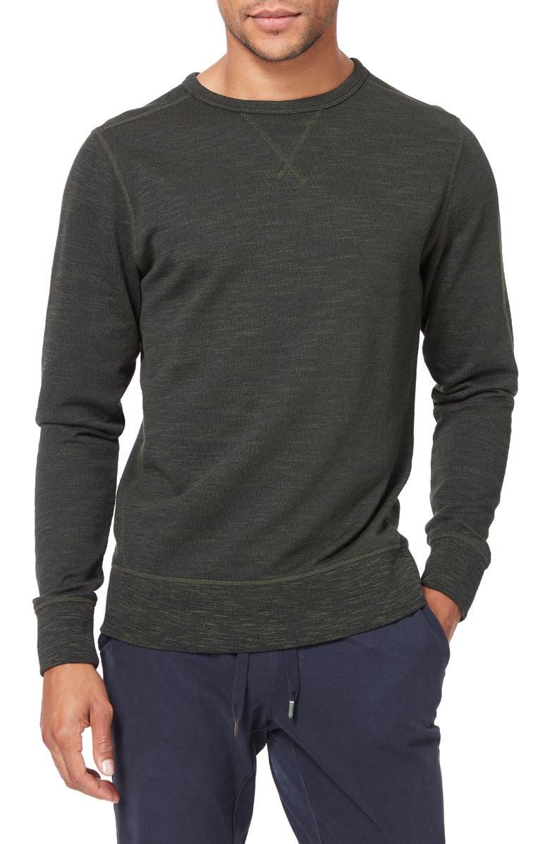 GOOD MAN BRAND Varsity Slim Fit Crewneck Sweatshirt, Main, color, 305