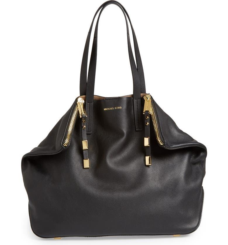 722a3ff477c Michael Kors 'Large Miranda' Leather Shopper | Nordstrom