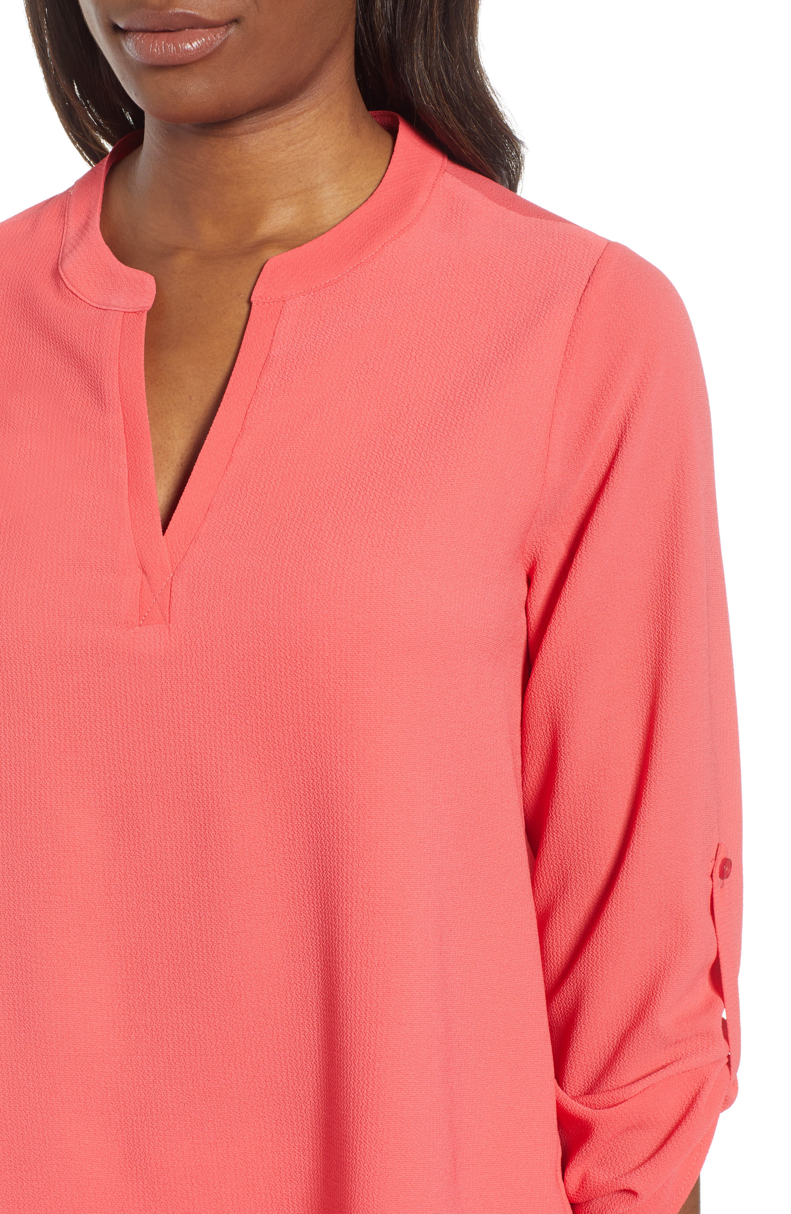 ,                             x International Women's Day Erin Cross Front Tunic Blouse,                             Alternate thumbnail 63, color,                             650